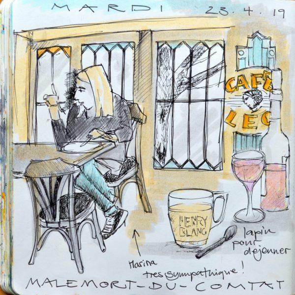 Café Léo à Malemort-du-Comtat
