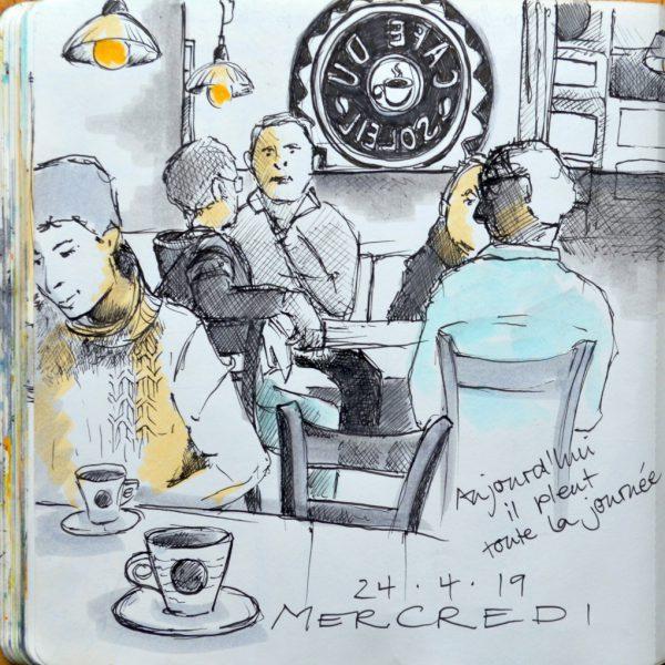 Café du Soleil à Villes-sur-Auzon