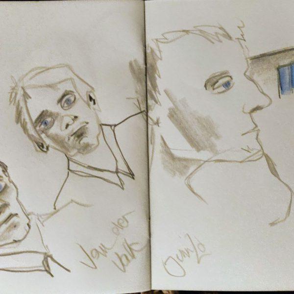 Television Sketching