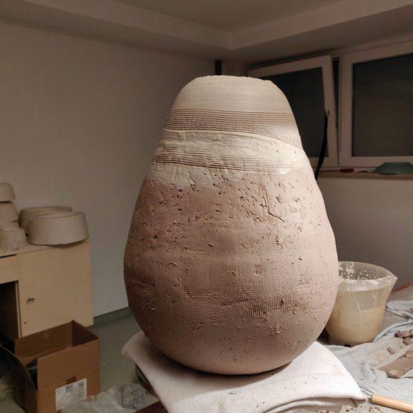 Vase No 6 – gerade entstanden